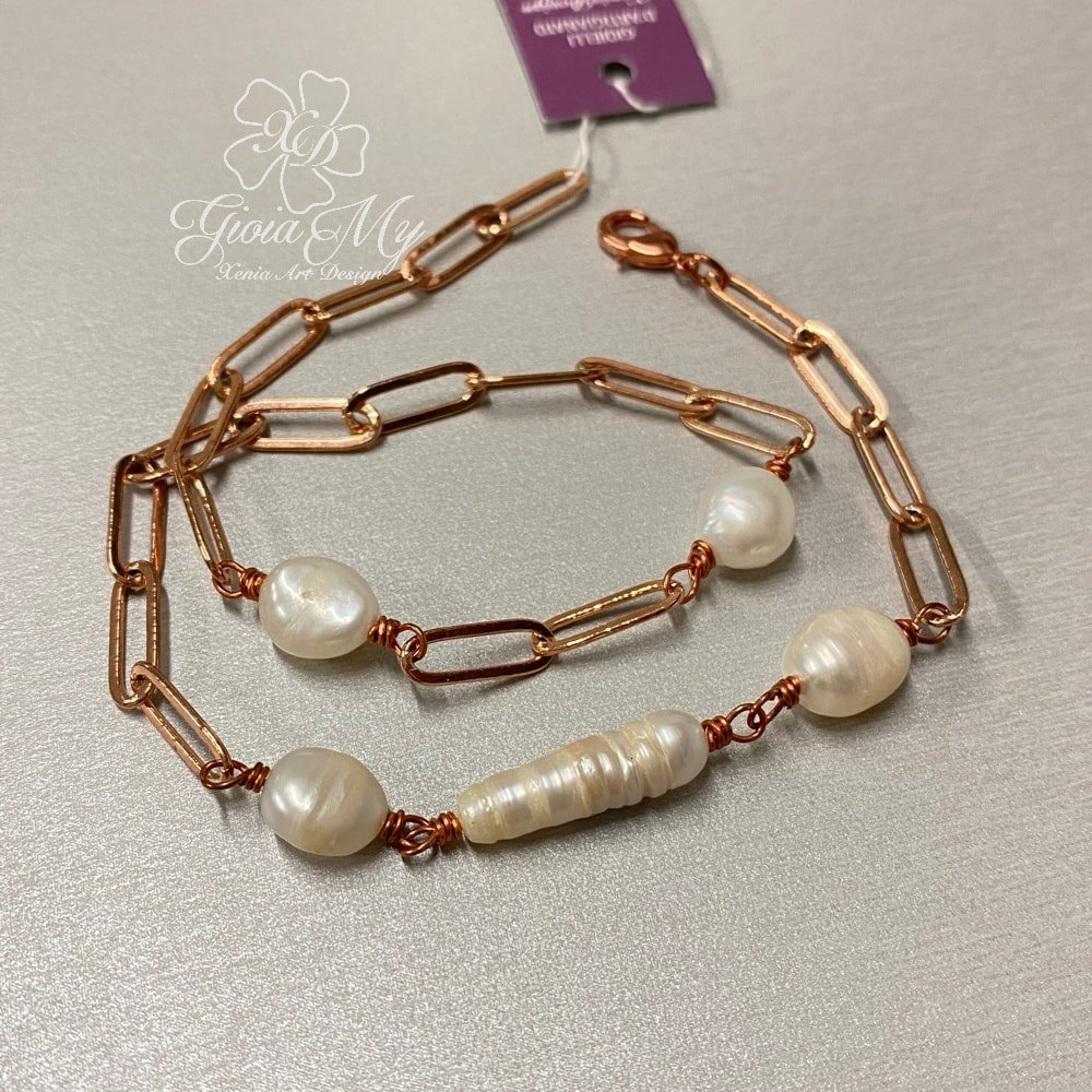 foto bracciale di tendenza con perle